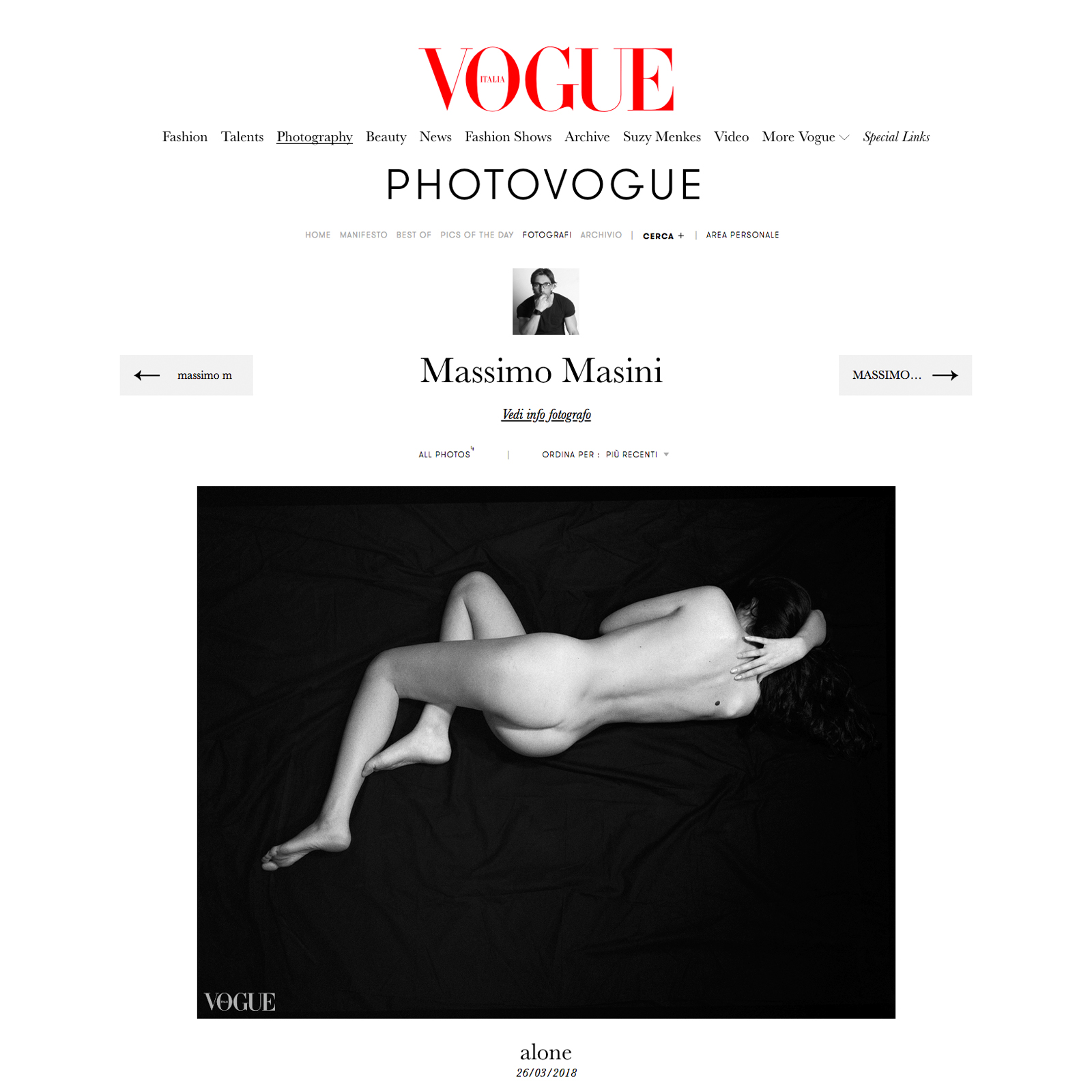 VOGUE alone layout
